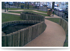 Midlands Decorative Surfaces - specialise in Resin Bound surfacing systems oxford
