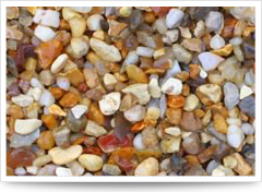 resin aggregate surfaces