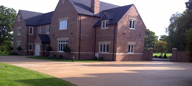 resin bonded driveway oxford