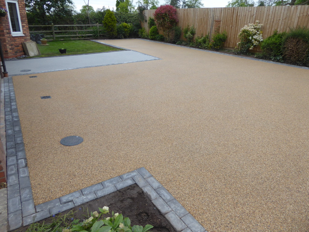 Stratford resin bound driveway project